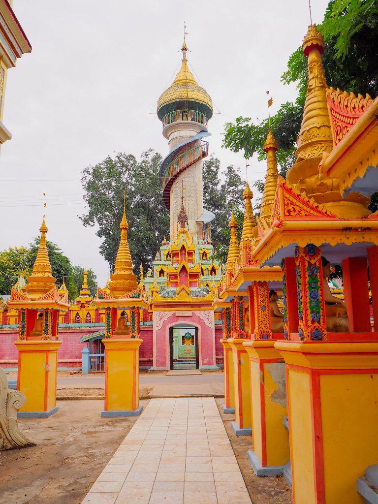 Tower in Monywa