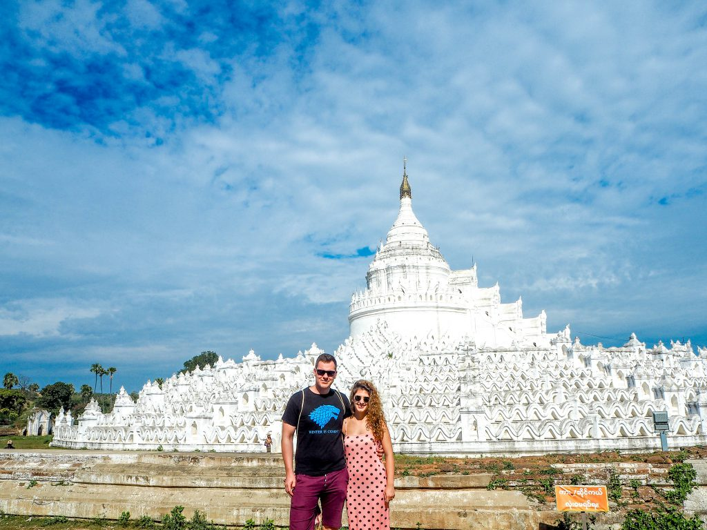 Travel together to Hsinbyume Pagoda Mingun Myanmar