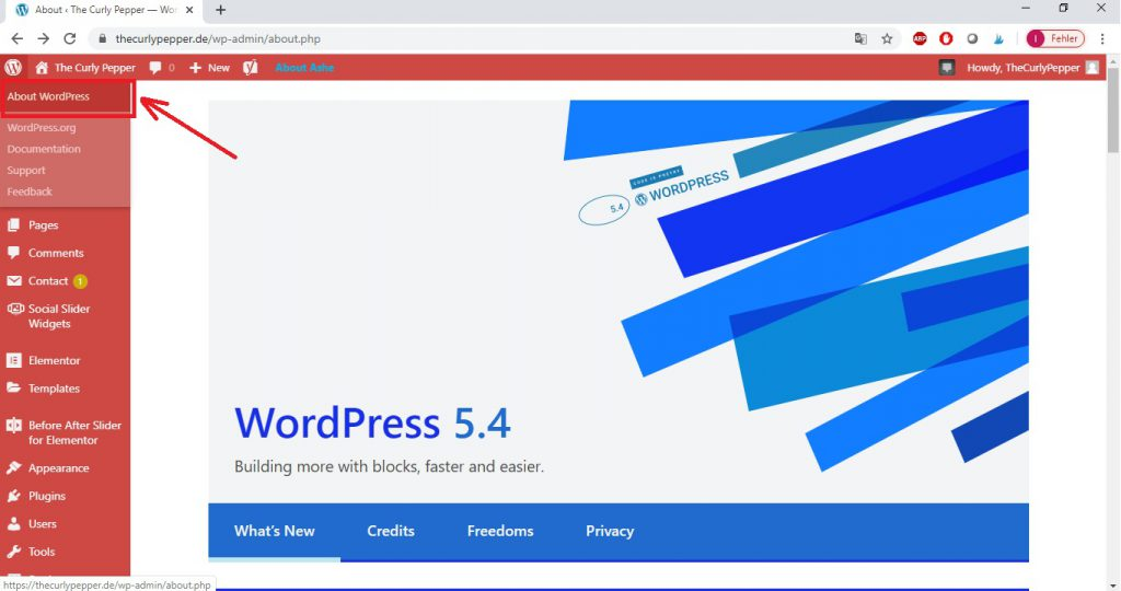 where to see if the version of your wordpress is compatible with the plugin